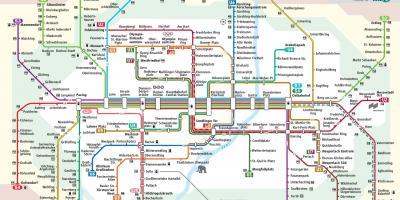 S Bahn Karte München.München Anzeigen Maps München Bayern Deutschland