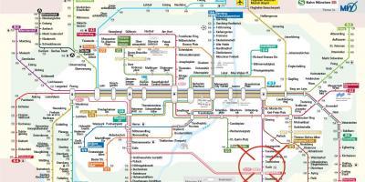 Mvv Zonen Karte.Munchen Anzeigen Maps Munchen Bayern Deutschland